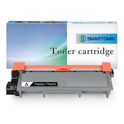 Brother TN630 TN660 Compatible Toner Cartridge - 1 Pack