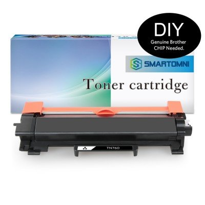 No Chip Compatible Replacement for Brother TN730 TN760 Toner Cartridge