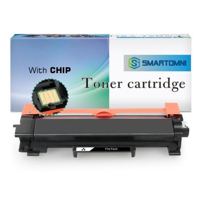 (With IC Chip) Compatible Replacement for Brother TN730 TN760 Toner Cartridge
