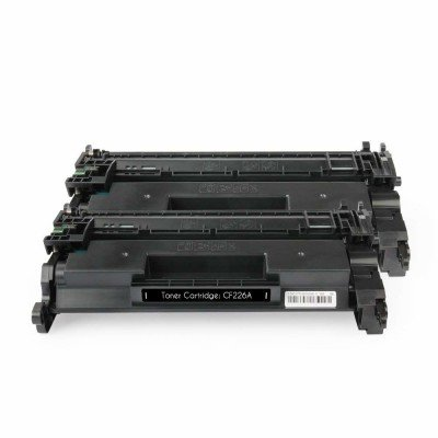 Compatible Toner Cartridge Replacement for HP 26A ( Black , 2-Pack )