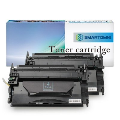 Compatible Toner Cartridge Replacement for CF226X 26X 2 Pack