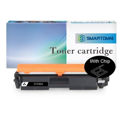 With Chip Compatible Toner Cartridge Replacement for HP CF230A 30A